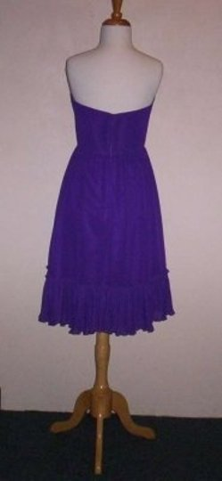 Alfred Angelo Viola Chiffon 7194 Formal Bridesmaid/Mob Dress Size 12 (L)