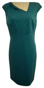 Oleg Cassini Vintage Retro Detail Pleated Dress