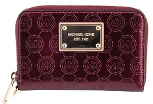 Michael Kors Wristlet in Burgandy