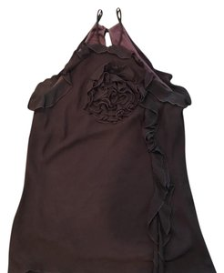 6 Degrees Brown Halter Top