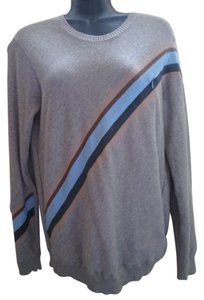 A|X Armani Exchange Striped Cotton Sweater