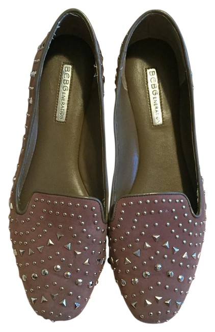BCBGeneration Dark Slate Bg Fella Flats Size US 7.5 Regular (M, B) BCBGeneration Dark Slate Bg Fella Flats Size US 7.5 Regular (M, B) Image 1