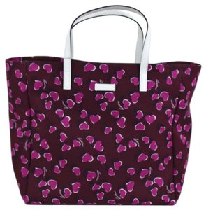 Gucci Heart 282439 Tote in Purple/Pink