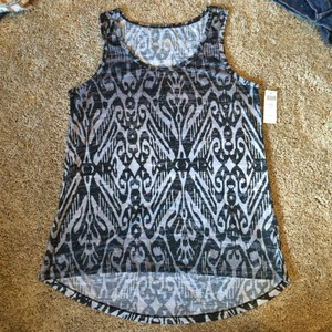 Soma Intimates Top Tribal Black