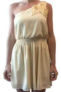 Ya Los Angeles One Shoulder Party Wedding Dress