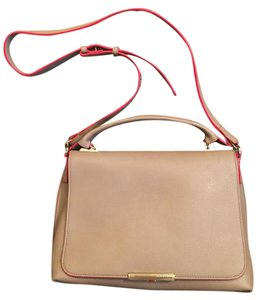 Emilio Pucci Modern Pebbled Professional Shoulder Bag