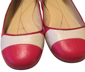 Kate Spade Red and White Flats