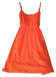 Forever 21 short dress Coral Crochet on Tradesy