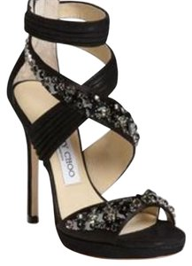 Jimmy Choo Night Out Date Night Suede Black Formal