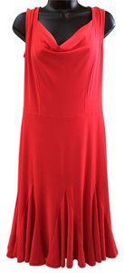 Joseph Ribkoff Sleeveless Tulip Bottom Stretchy Dress