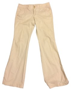 American Eagle Outfitters Boot-cut Stretch Soft Khaki/Chino Pants Khaki