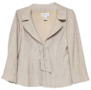 Bloomingdale's Tan Jacket