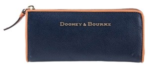 Dooney & Bourke Navy Clutch