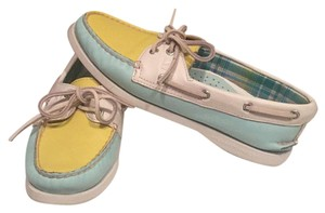 Sperry Mint Green Flats