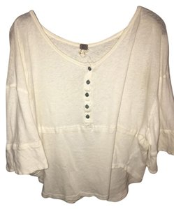 Free People Top off white