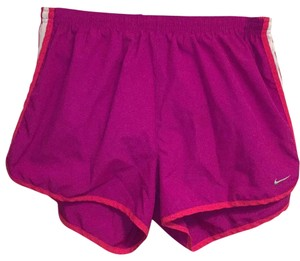 Nike Purple/pink with pink and white Shorts