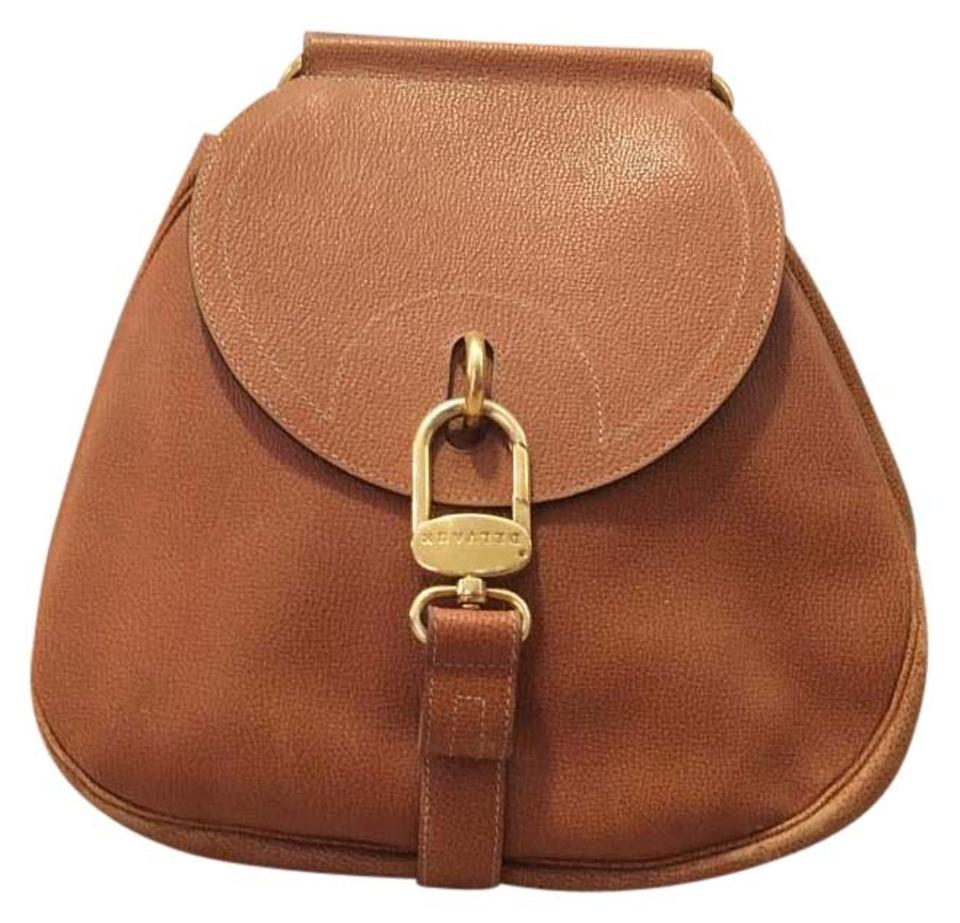 0d69c16f04 Delvaux Canyon Cross Body Tan Leather Shoulder Bag - Tradesy