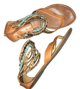 Coconuts turquoise Sandals