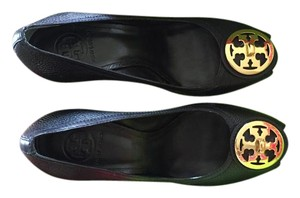 Tory Burch Black Wedges
