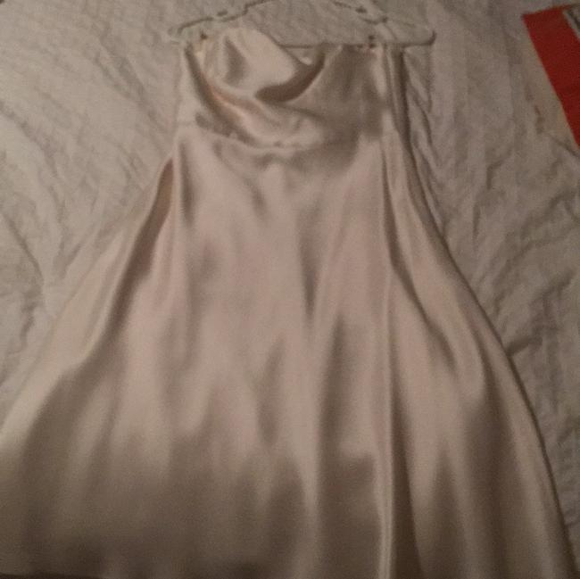 Item - Ivory Silk Casual Wedding Dress Size 2 (XS)