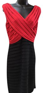 Scarlett Nite Crossover Top Pleated Dress