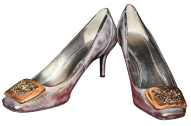 Elie Tahari Brushed Bronze No Pumps Size US 7 Regular (M, B) Elie Tahari Brushed Bronze No Pumps Size US 7 Regular (M, B) Image 1