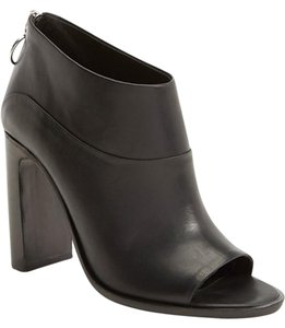 Rag & Bone Open Toe Ankle Black Boots