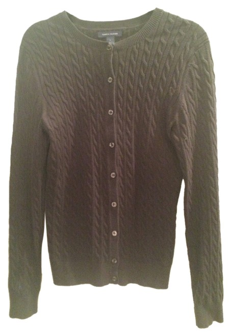 Preload https://item2.tradesy.com/images/tommy-hilfiger-black-cable-knit-sweaterpullover-size-8-m-1615811-0-0.jpg?width=400&height=650