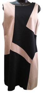Suzi Chin for Maggy Boutique Sleeveless Geometric Pattern Dress