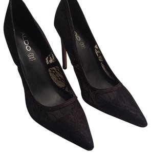 ALDO Black lace Pumps