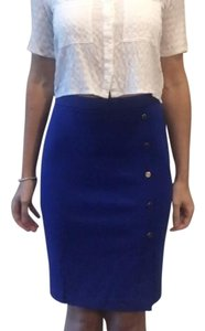 The Limited Stretchy Pencil Skirt Royal Blue