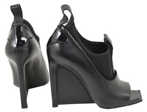 Balenciaga black Wedges