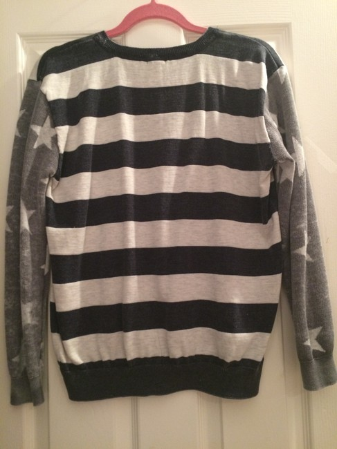 Forever 21 America Striped Stars Sweater