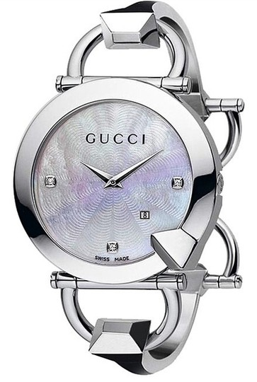 Gucci Watch GUCCI WITH DIAMONDS MOTHER OF PEARL WATCH