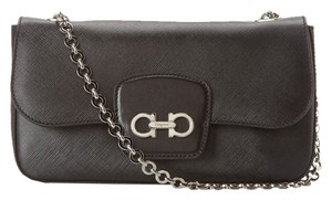 Salvatore Ferragamo Rory Black Liana Shoulder Bag
