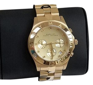 Marc by Marc Jacobs Chronograph Gold Watch MBM3101