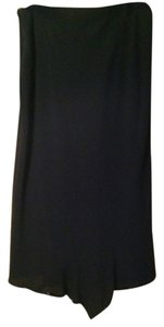 Banana Republic Sequin Maxi Skirt Black
