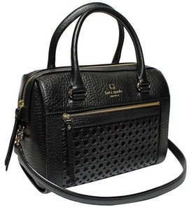 Kate Spade Perri Lane Delaney Satchel in Black