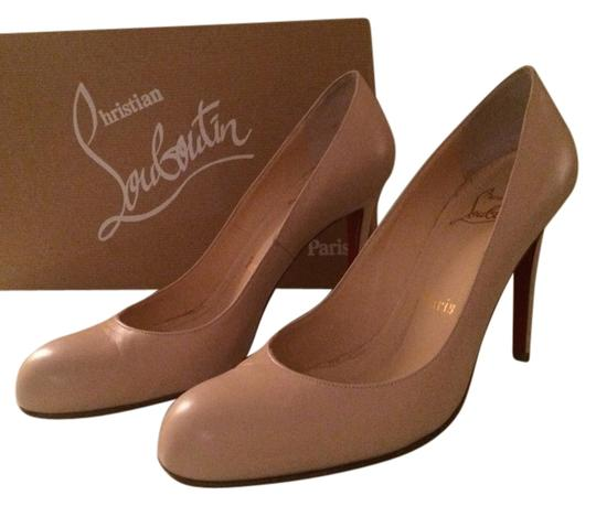 Preload https://item1.tradesy.com/images/christian-louboutin-nude-leather-simple-100-pumps-size-us-85-regular-m-b-1616115-0-0.jpg?width=440&height=440