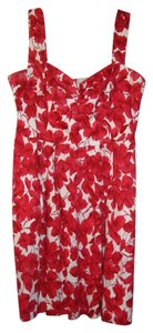 Donna Ricco Red Floral Dress