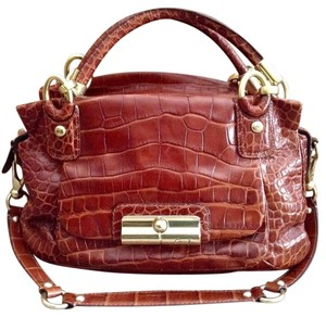 Coach Satchel in Walnut