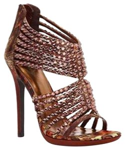 Other Jeweled Zigi Soho Rhinestone Bronze Sandals