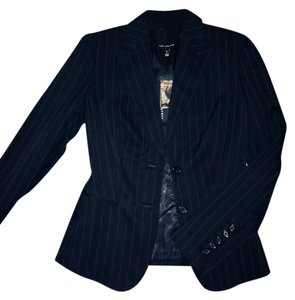 The Limited Black strip blazer