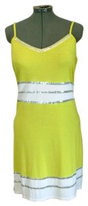 INC International Concepts short dress Yellow Sheath Stretch Beach Mini on Tradesy
