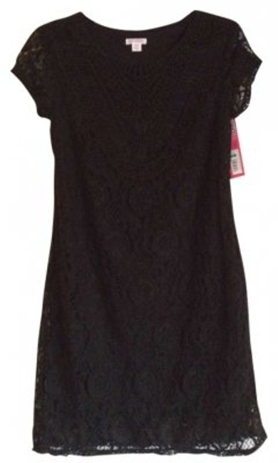 Preload https://item4.tradesy.com/images/xhilaration-black-for-target-above-knee-short-casual-dress-size-8-m-161633-0-0.jpg?width=400&height=650