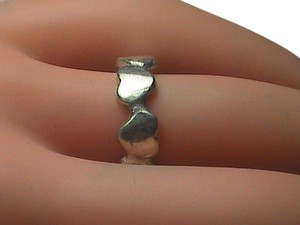Vintage Sterling Silver HEART Ring