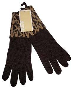 michael kors Michael kors Women's Gloves Choco/camel