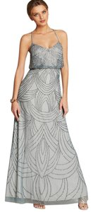 Adrianna Papell Beaded Chiffon Dress