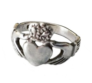 Other Claddagh Ring 925 Sterling Silver Irish Celtic Jewelry Love Friendship