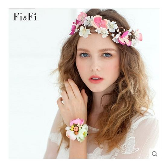 Preload https://item2.tradesy.com/images/pink-white-flower-band-hair-accessory-1616471-0-0.jpg?width=440&height=440